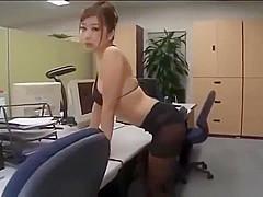 Japan girl in pantyhose