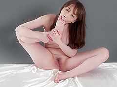 Japanese Babe Gives Footjob and Sucks Her Owen Toes