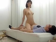 Horny Japanese model in Check JAV video full version
