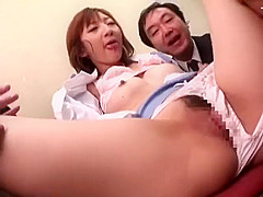 MOLD-04 young girls try to drown old guys in spit kisses