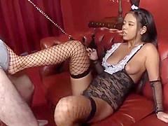 Wild Japanese slut in Incredible JAV movie, check it