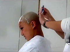 Japanese Girl Headshave