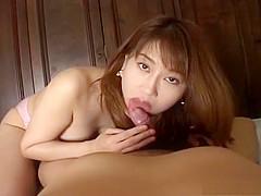 Cute Reimi Matsukawa Blowjob and Handjob