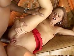Bri Jae Love enjoys anal sex from black lover