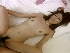 Risa Misaki is having casual sex with her boss
