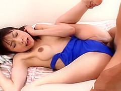 Riku Shiina sucking dick nicely