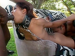 Lyla Lei anally pounded in outdoors scene