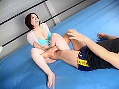 Japanese submission mixed wrestling domination