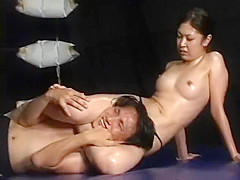 Asian muscle wrestling
