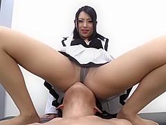 Very Hot Japanese Facesitting + POT