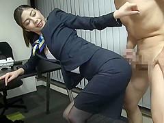 Crazy porn scene Japanese great show