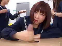 Astonishing xxx video Japanese fantastic pretty one