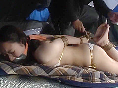 JAPANESE GIRL BOUND AND GAGGED - 2