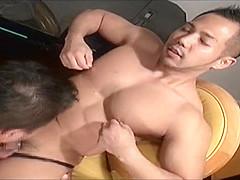 japanese muscle pecs