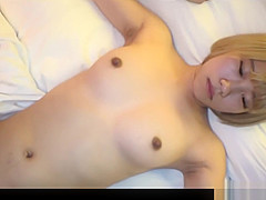 Jav Amateur Azumi Slender Babe Fucked In Many Pos Dyed Blond