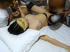 Chinese sex party