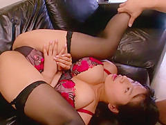 Fabulous Japanese model Hana Haruna in Hottest JAV censored Swallow, MILFs video