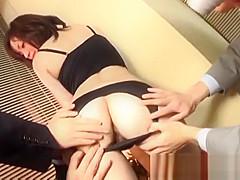 Lingerie milf, Mika Hukunaga, naughty porn special on cam
