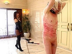 japanese mistress violent whipping in dude