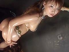 Micro Bikini Oily Dance