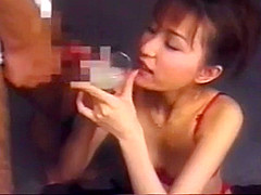 Japan girl swallow 10 cumshot