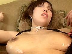 Mei Amazaki Japanese model has hot anal sex