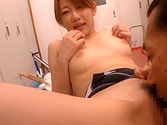 Kokomi Naruse has some hardcore sex in the change rooms
