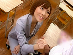 Skinny office girl teasing her hot and sexy guy office mate for a fuck