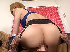 Aya Kisaki naughty milf plays solo with pussy toys