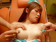Satou Haruka naughty Asian milf enjoys sex toys