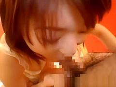 Innocent Shy Asian Swallow Sperm