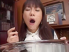 Real japanese gets facial and bukkake in amateur groupsex