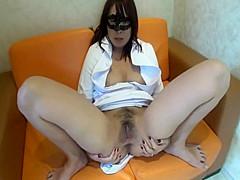 Active nurse's woman on top posture style sex creampie