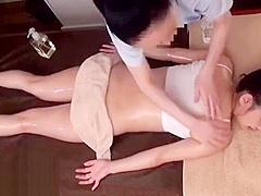 Japanese 18yo massage turns weird