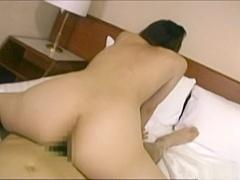 Naughty Japanese AV Model gets mature pussy banged hardcore