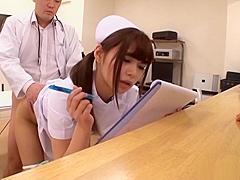 Horny Japanese AV models enjoy a wild orgy