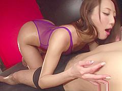 Matsushima Aoi shows her expertise in handling huge cocks
