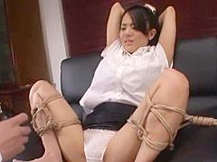 Sora Aoi Bondage Office Fuck VIOJAV.COM