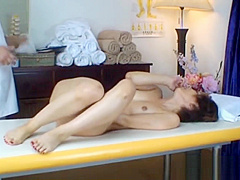 Asian milf has massage and fucking part5
