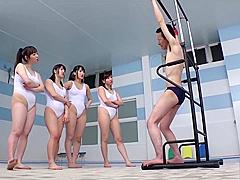 Jp swimsuit girl femdom