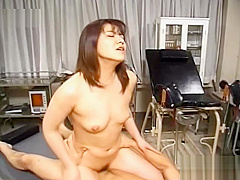 Asian nurse gets roughly fucked