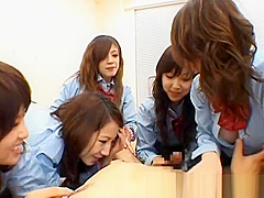 Asian schoolgirls are having a massive part2