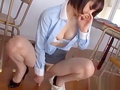 Suzumura Airi masturbation in motto enjoy hi-school