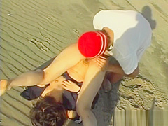 Licking And Fingering A Japanese Slut At The Beach