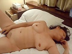 Horny japanese milf kui somya sextoy masturbatiion