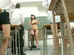 Natsumi kitahara gets fucked by four part2