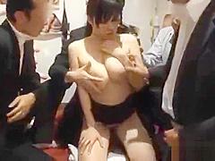 Azusa Nagasawa sucking cock and creamed part4