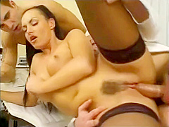 Jap Busty Bank Office Lady Hardcore Threesome