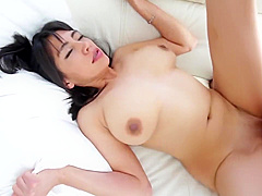 Asian Teen With Big Natural Tits POV Fuck