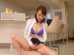 Horny Asian slut get fondled